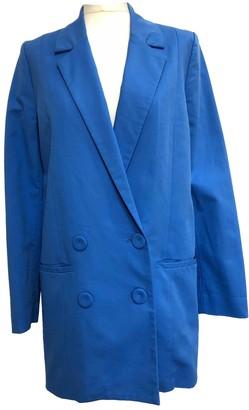 Gestuz Blue Cotton Jackets