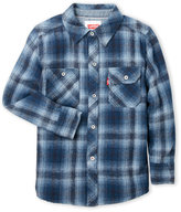 Levi's Boys 4-7) Flannel Work Shirt
