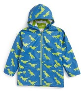 Hatley Boy's T-Rex Splash Hooded Raincoat