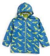 Hatley Toddler Boy's T-Rex Splash Hooded Raincoat