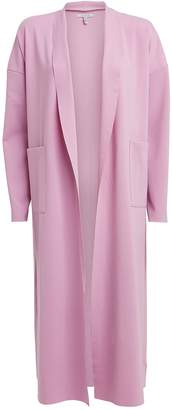 Atoìr Satin Open Front Overcoat