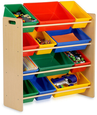 Honey-Can-Do 12-Bin Kids' Storage Organizer