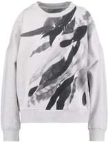 AllSaints WING UNAI Sweatshirt light grey marl