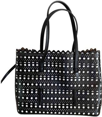 Alaia Black Leather Handbags