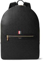 Thom Browne Pebble-grain Leather Backpack - Black
