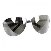 Gucci White Metal Sunglasses