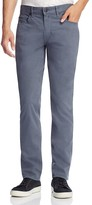 Paige Federal Slim Fit Jeans in Smoky Blue
