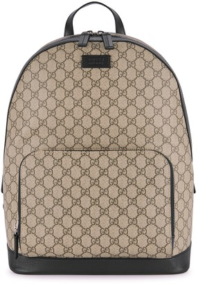 Gucci Eden GG Supreme Monogrammed Backpack