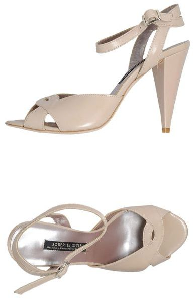 Jouer Le Style High-heeled sandals