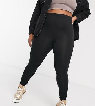 Yours leggings in black