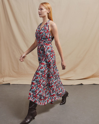 Jigsaw Tapestry Floral Crossback Dress