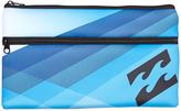 Billabong Jumbo Pencil Case Blue