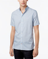 Tommy Hilfiger Men's Short-Sleeve Carl Birdseye Shirt