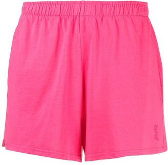 Les Girls Les Boys Embroidered Logo Jersey Shorts
