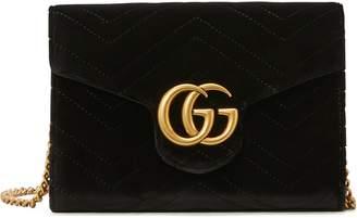 Gucci GG Marmont velvet mini bag
