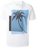 Maison Margiela palm tree print T-shirt