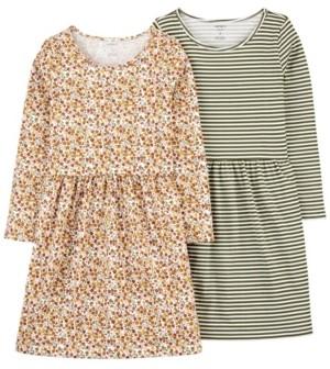 Carter's Little & Big Girl 2-Pack Jersey Dresses