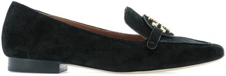 Tory Burch Logo Loafers