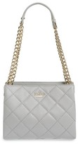 Kate Spade 'Emerson Place - Mini Convertible Phoebe' Quilted Leather Shoulder Bag - Black