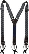 Tommy Hilfiger Men's 32mm Woven Stripe Suspender