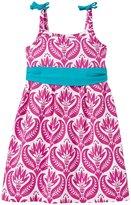 Hatley Tropical Ocean Flowers Dress (Toddler/Kid) - Pink - 2T