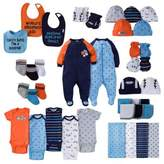 Gerber Layette Boy Sport Separates Collection in Navy/Orange