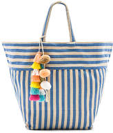 JADEtribe Valerie Beach Bag Tassel Pom