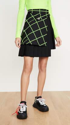 Off-White Multipanel Miniskirt