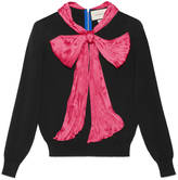 Gucci Cashmere top with bow