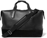 Tom Ford - Suede-trimmed Grained-leather Holdall