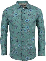 Lords Of Harlech Nigel In Bird Floral Canvas Teal