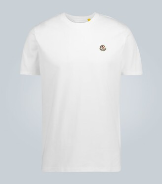 MONCLER GENIUS 2 MONCLER 1952 & AWAKE NY logo cotton T-shirt