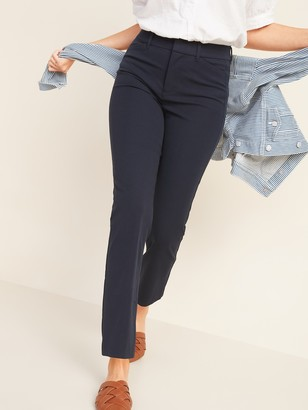Old Navy All-New High-Waisted Pixie Straight-Leg Ankle Pants for Women