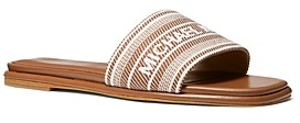 MICHAEL Michael Kors Women's Sadler Slide Sandals