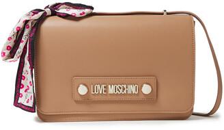 Love Moschino Embellished Faux Leather Shoulder Bag