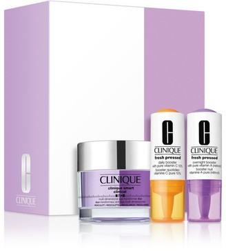 Clinique Smart Clinical & Fresh Pressed Daily Booster 3-Piece Set