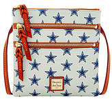 Dooney & Bourke NFL Collection Dallas Cowboys Triple-Zip Cross-Body Bag