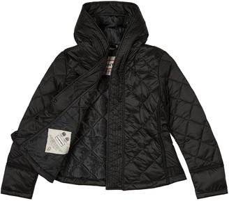 Hunter Original Refined Quilted Jacket - Black