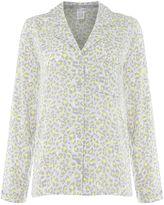 Calvin Klein Leopard print pyjama shirt