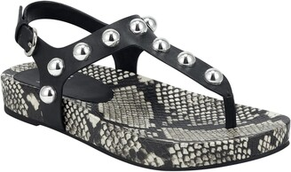 Marc Fisher Indie Studded Sandal