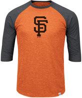 Majestic Men's San Francisco Giants Grueling Raglan T-Shirt