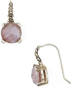 Stephen Dweck Rose Quartz Drop Earrings