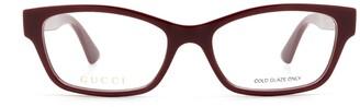 Gucci Rectangle Framed Glasses