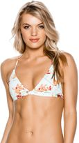Roxy Franco Floral Fixed Tri Bikini Top