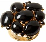 Cabochon cluster ring