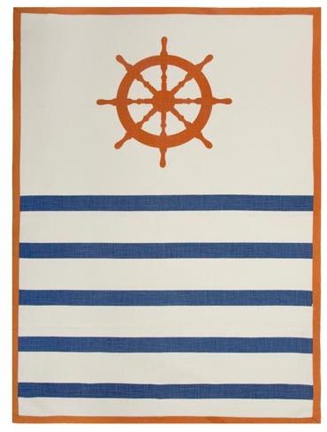 Thomas Paul Wheel Alcazar Tea Towel