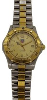 Tag Heuer Wk1121.bb0314 Stainless Steel and Gold 2000 Classic Quartz Mens Watch