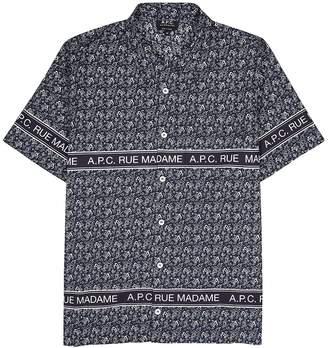A.P.C. Paisley-print Cotton Shirt