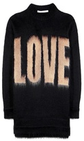 Givenchy Printed Mohair And Wool-blend Sweater