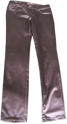 John Galliano Black Jeans for Women